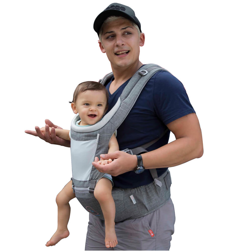 hipseat Baby carrier-front