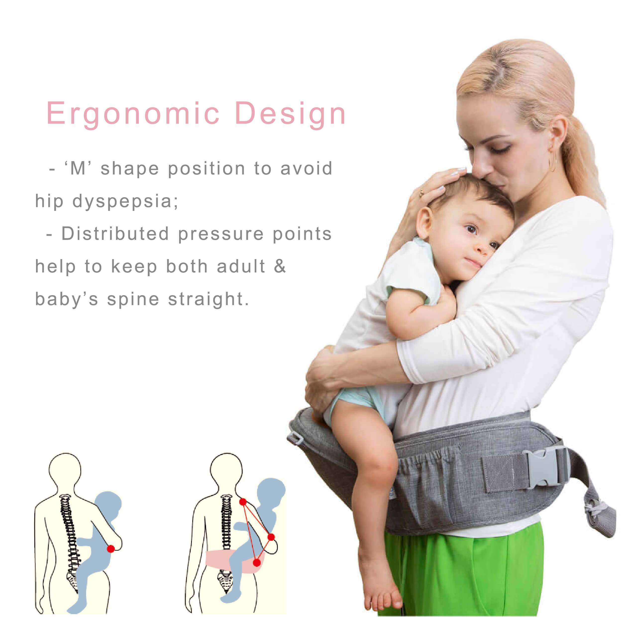DaDa hipseat Baby Carrier